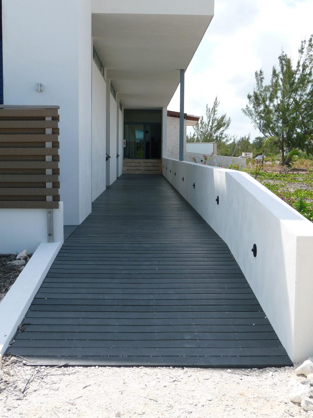 Hallig House walkway