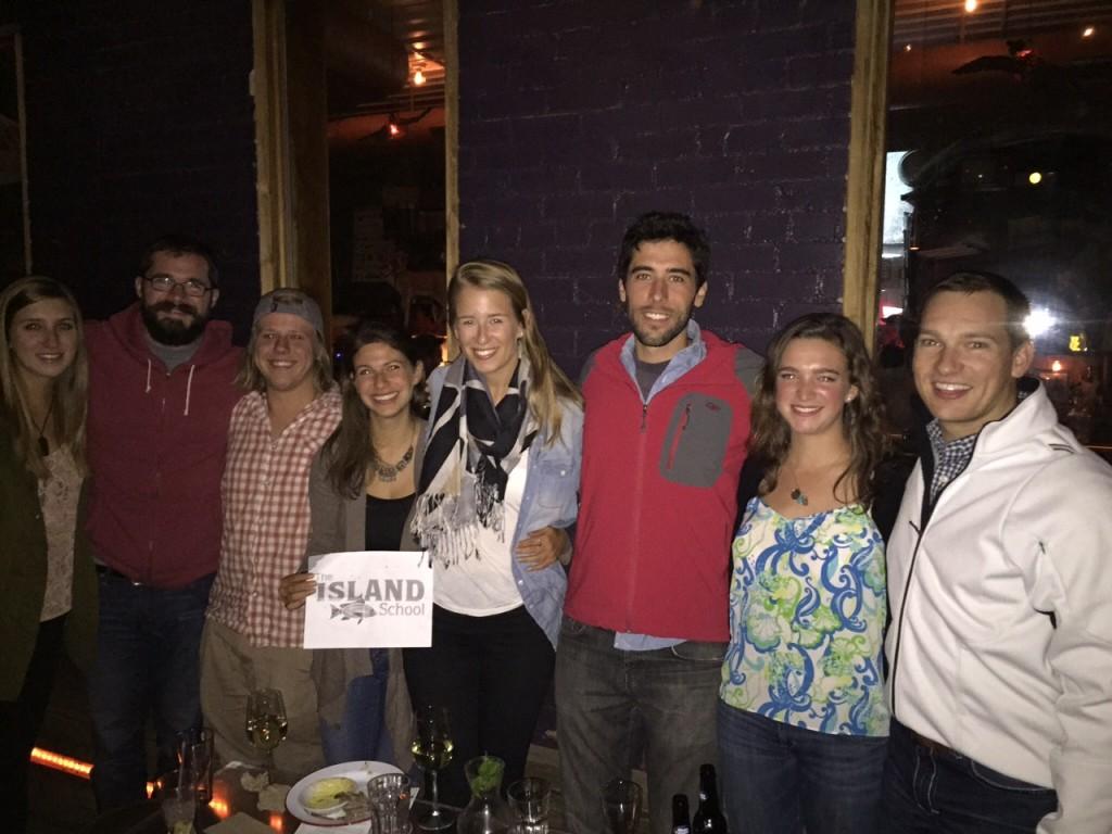 Denver Have One On Us: Nick Del Vecchio (F'02), Eric Verdier (S'09), Natalie Triedman (S'07), Steph Solomont (S'07), Drew Fink (F'05), Louise Shiverick (F'10), Colton Coughlin (F'05)