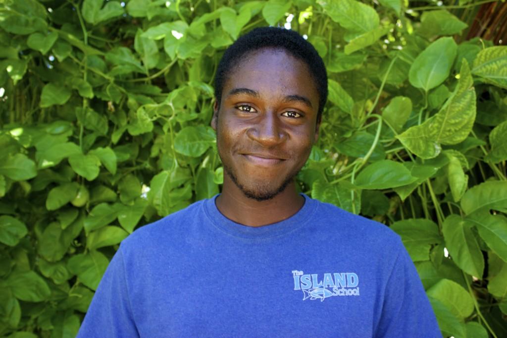 Fall 2014 BESS Scholar Kerwin Mullings.