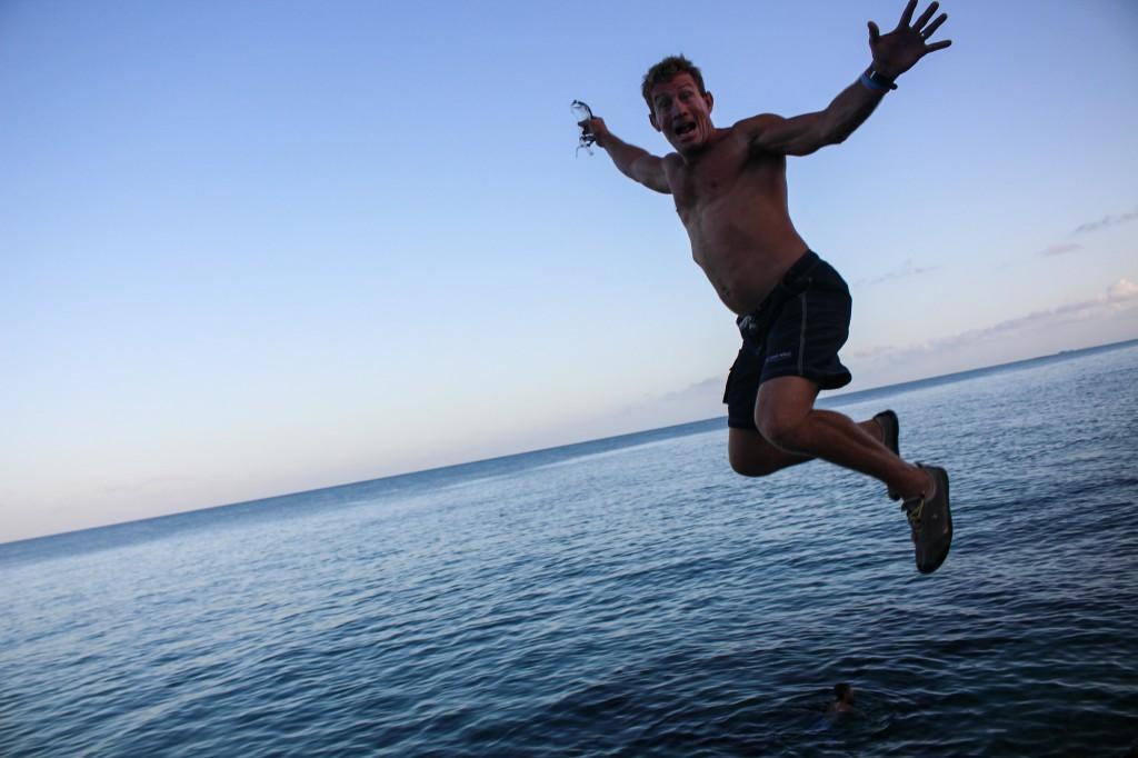 Chris High Rock Jump