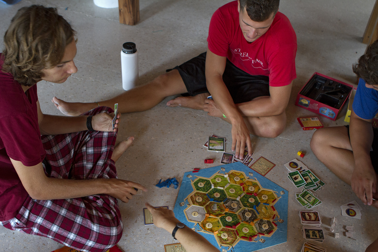 Settlers of Catan was an alternative to the movie
